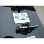 šroub M7x32mm hlava 12,9mm multicolor