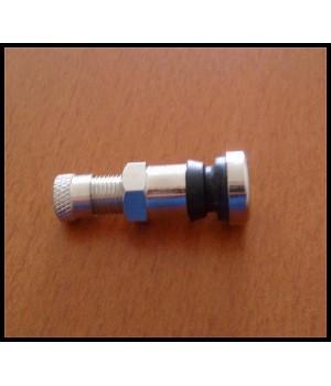 ventilek stříbrný Chrom krátký - 8,3mm