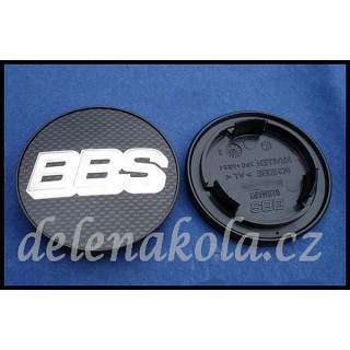 logo BBS Carbon - 70mm