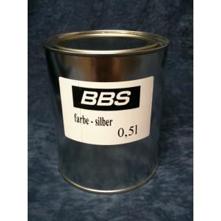 stříbrná barva BBS 0,5l