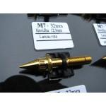 šroub M7x32mm hlava 12,9mm Lanza vita - gold zlato